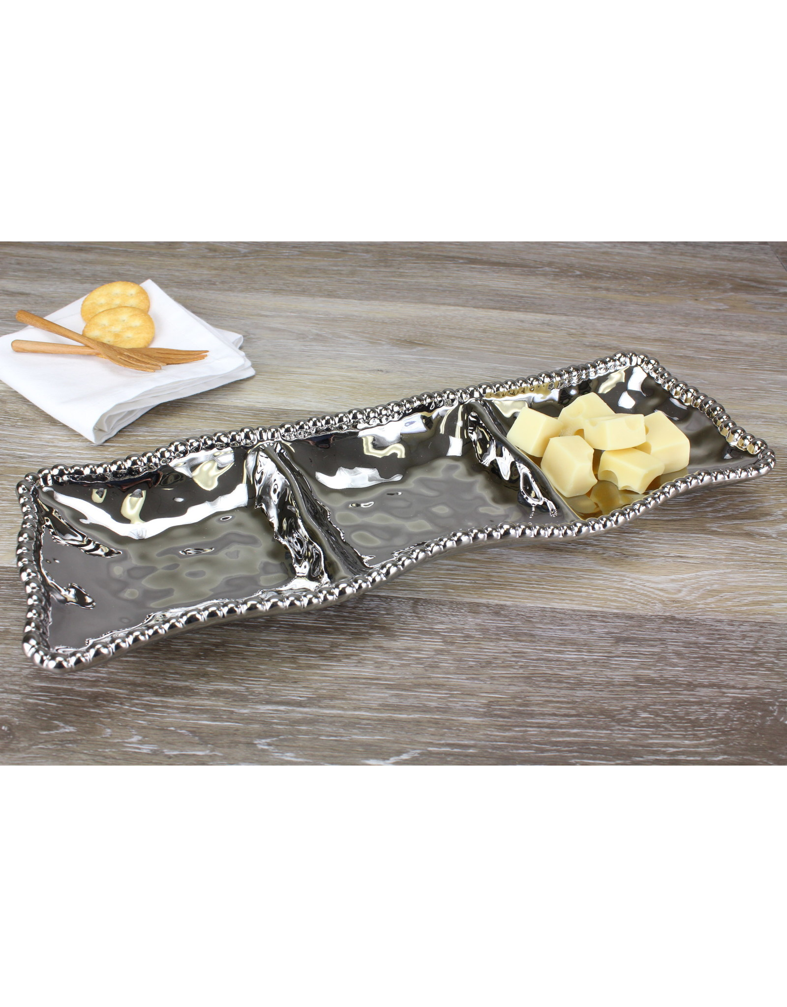 Pampa Bay Pampa Bay 3 sectional silver CER-2426