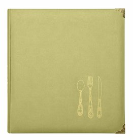 CR Gibson Chartreuse Recipe Organizer