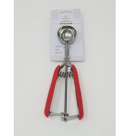 Cherle Medium Cookie Scoop Red