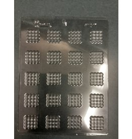 B&D Square Waffle Decorative Shape #1017