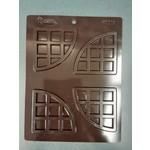 B&D Large Waffle Triangular Decorative Shape #1018