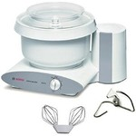 Bosch Universal Plus Mixer With Stainless Steel Challah Bowl