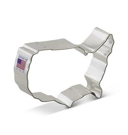 Ann Clark 4'' USA Map Cookie Cutter