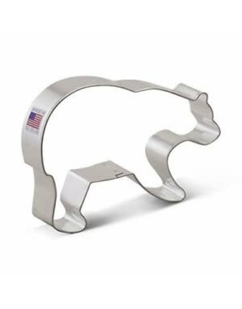 Ann Clark 5.25 Grizzly Bear Cookie Cutter