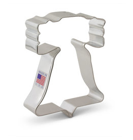 Ann Clark 4'' Liberty Bell  Cookie Cutter