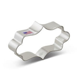 Ann Clark 7754A Fancy Plaque Cookie Cutter