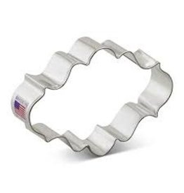 "Ann Clark 4"" Oval Plaque Cookie Cutter"