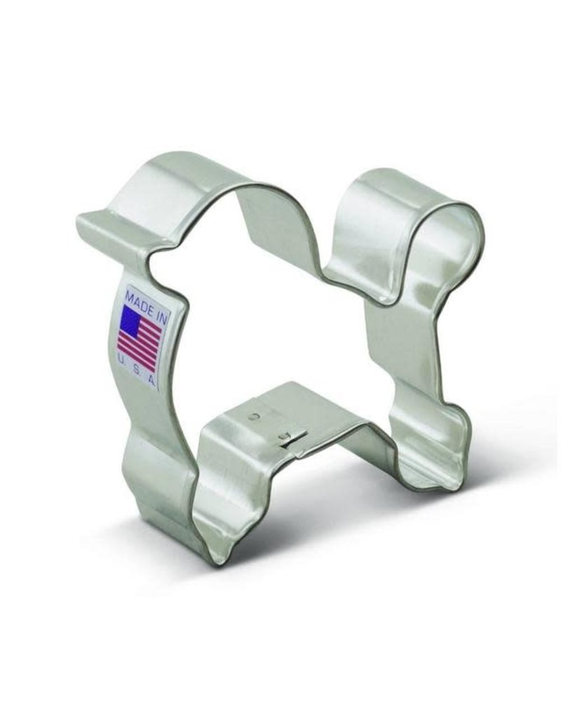 Ann Clark 3'' Poodle Cookie Cutter