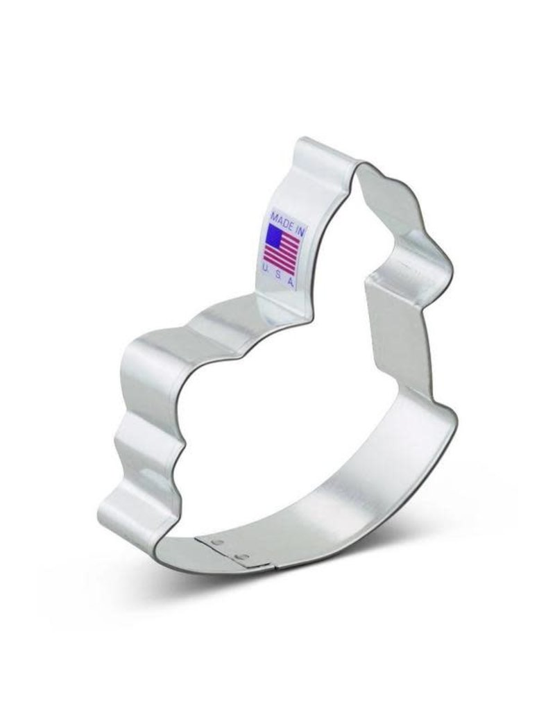Ann Clark 3.75'' Rocking Horse Cookie Cutter