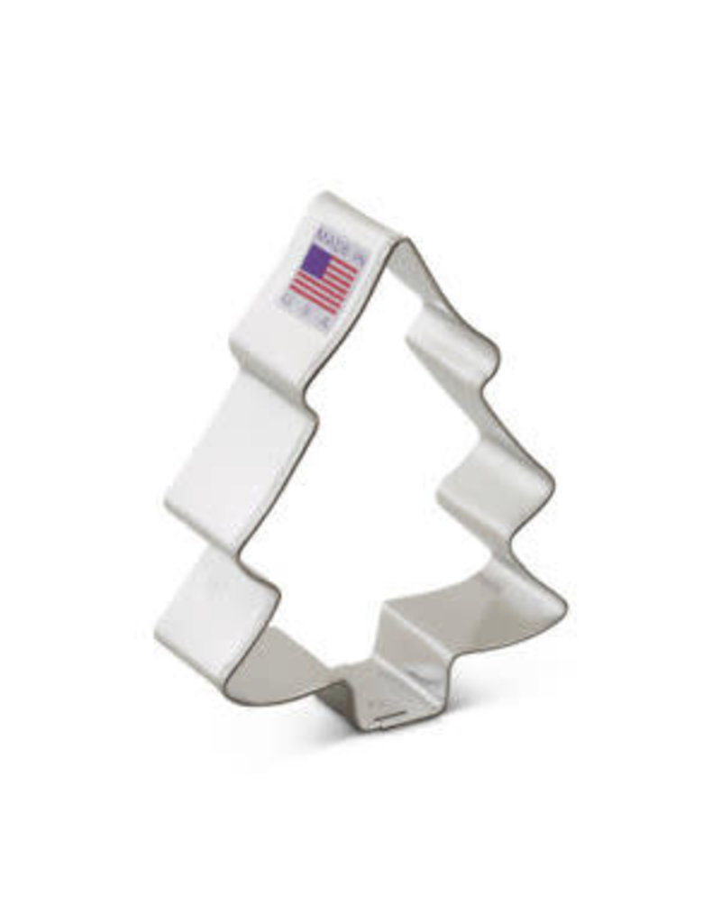 Ann Clark 3.5 Snow Covered Tree Cookie Cutter