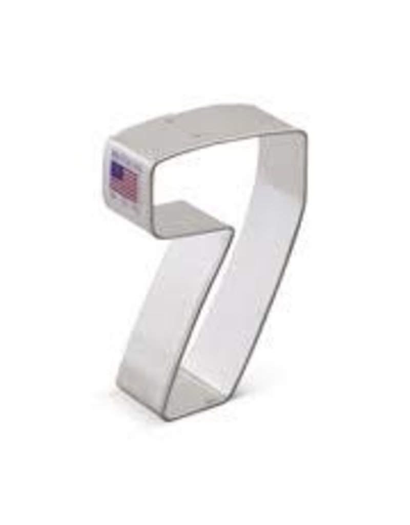 Ann Clark 3'' Number 7 Cookie Cutter