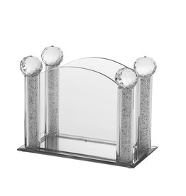 Cryatsl & Stone Napkin Holder 1623