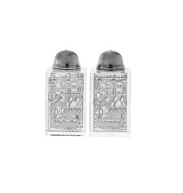 Crystal Salt & Pepper Shaker Set Jerusalem 3007