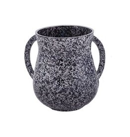 Marble Coated Washing Cup - Black NYV-4