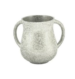 Marble Coated Washing Cup - Silver NYV-2