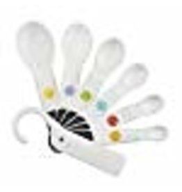 OXO OXO Good Grips 6-Piece Plastic Measuring Spoons with added Scraper