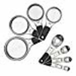 OXO OXO Good Grips Measuring Cups and Spoons Set, Stainless Steel