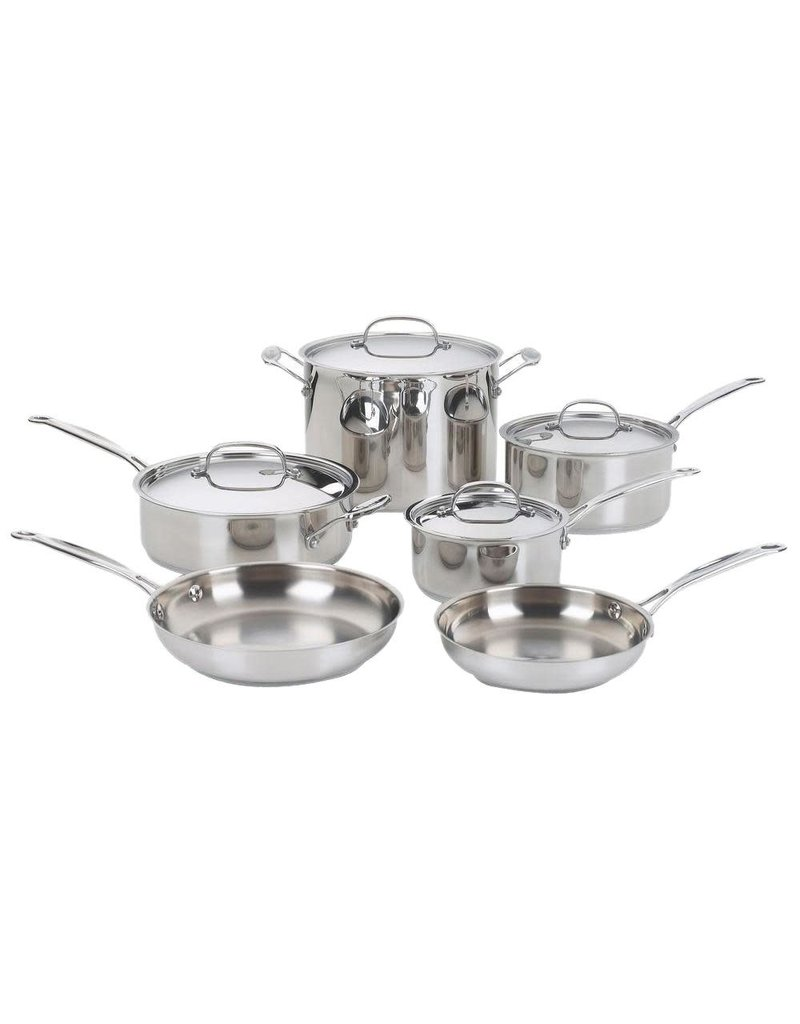 Imperial 2018 Cuisinart 10PC CHEFS CLASSIC COOKWARE SS