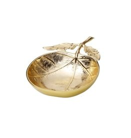 Small Gold Leaf Dish LE945