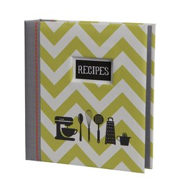 CR Gibson Kitchen Gear Pocket Page Recipe Book