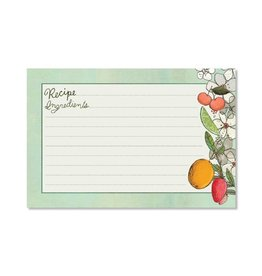 CR Gibson Fruit Fusion Recipe Cards