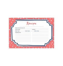 CR Gibson Flourish Recipe Cards