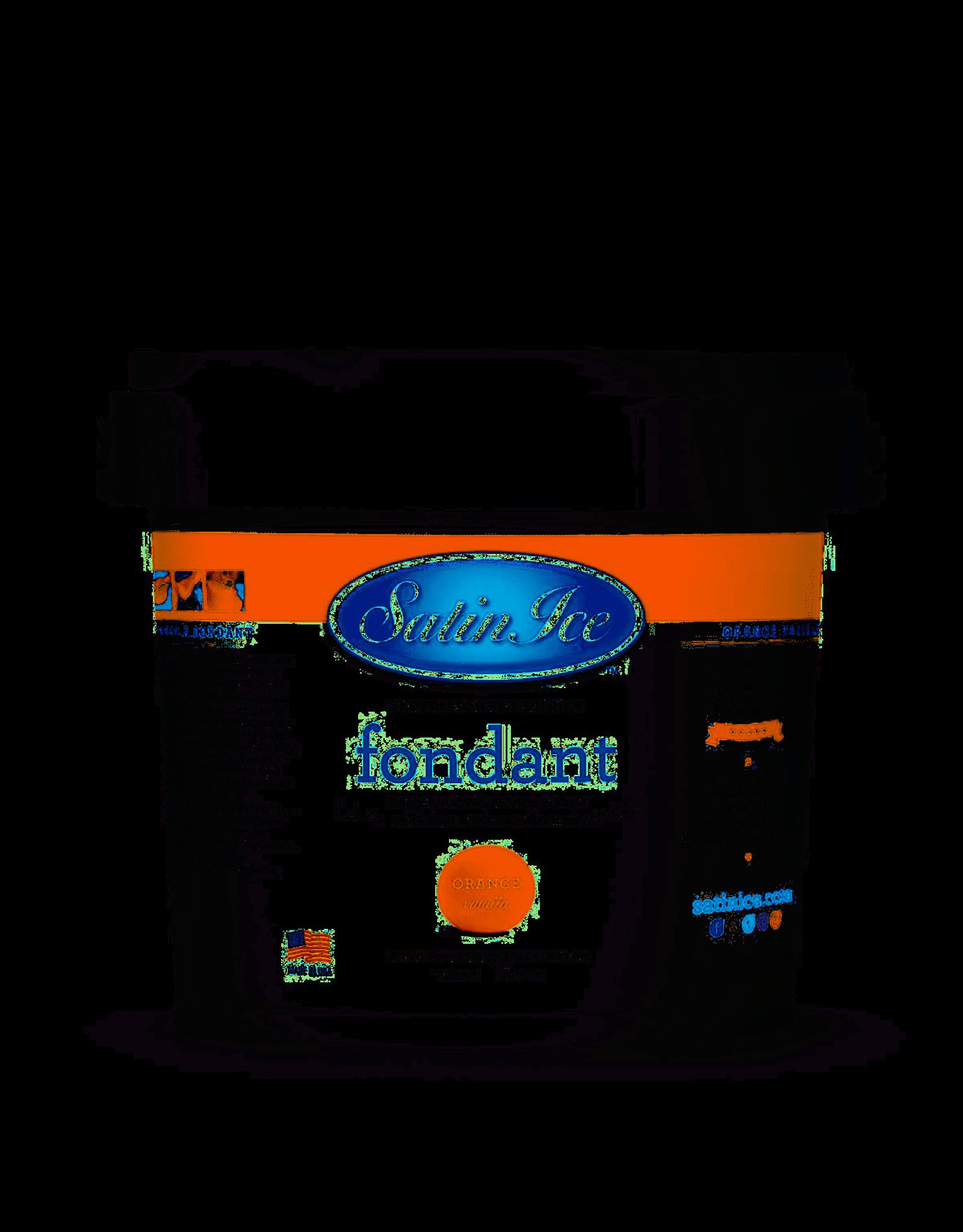 Satin Ice 5Lb Orange Fondant