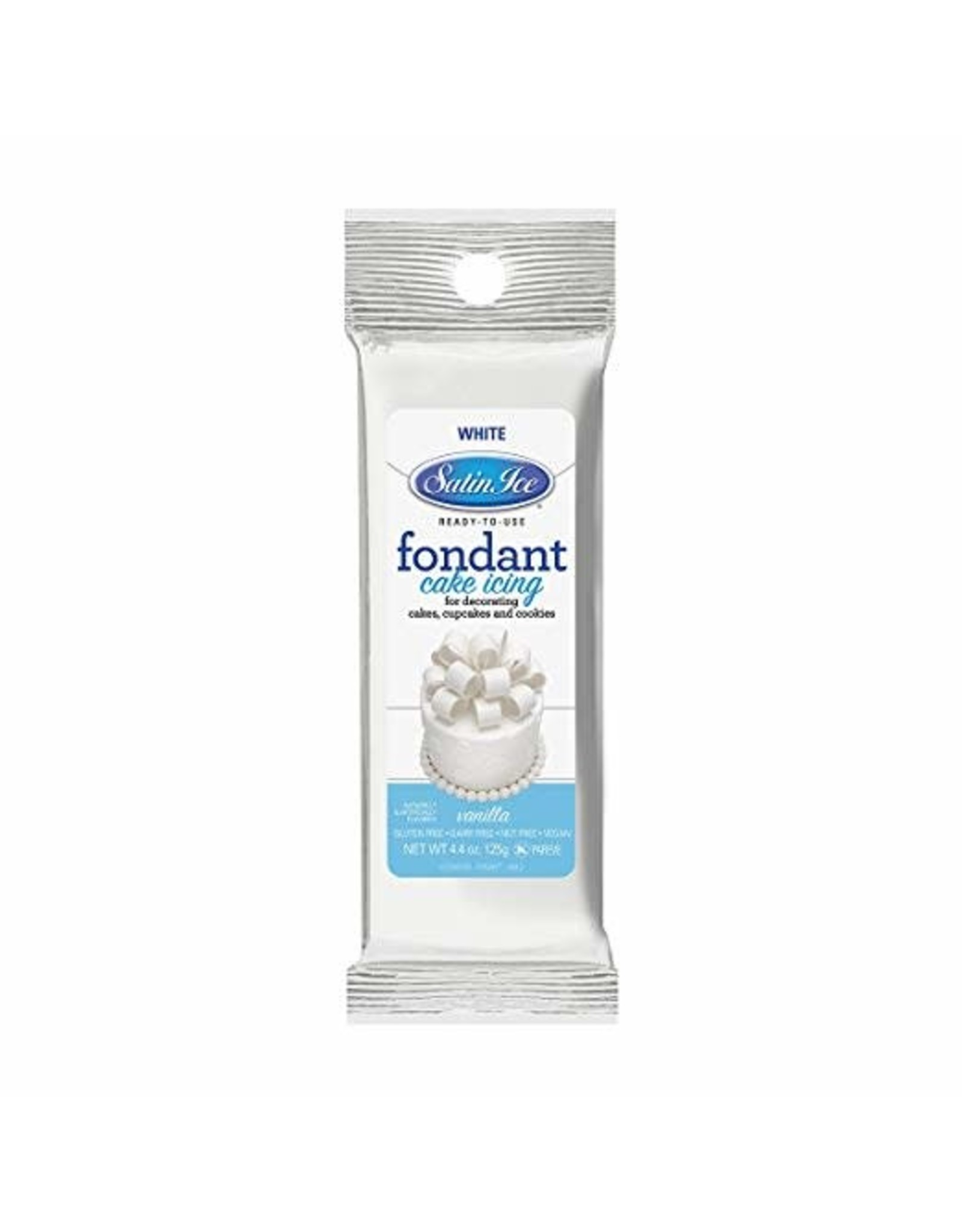 Satin Ice 4.04oz White Fondant