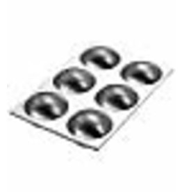 Wilton Wilton Ball Pan, 3D Aluminum Bakeware for Baking or Molding Delicious and Uniquely Shaped Treats, Makes 6 Half Balls