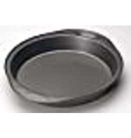 Wilton Wilton Excelle Elite Round Cake Pan, Create Delicious Cakes, Mouthwatering Quiches and More in this Even-Heating, Heavy-Duty Non-Stick Cake Pan, Steel, 9-Inch