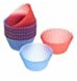 Wilton Wilton 415-9400 Easy Flex Silicone 2-Inch Reusable Baking Cups, 12 Count