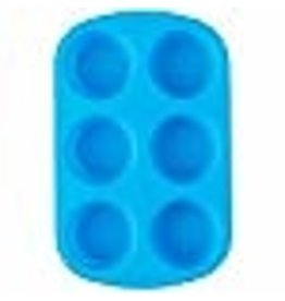 Wilton Wilton Easy-Flex Silicone Muffin and Cupcake Pan, 6-Cup
