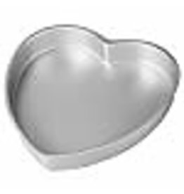 Wilton Wilton Aluminum Heart Shaped Cake Pan, 8 inch