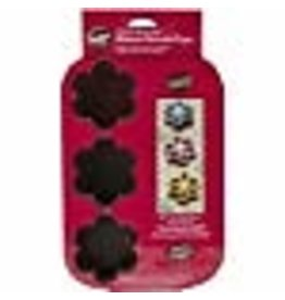 Wilton Wilton Brownie Blossom 6 Cavity Mold