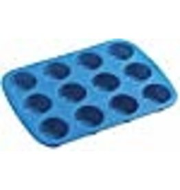 Wilton Wilton Easy-flex Silicone Mini Muffin Pan-12 Cavity 1.875-inch x .875-inch,