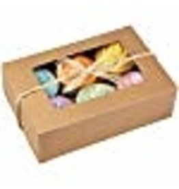 Wilton Wilton 415-0740 2/Pack 6-Cavity Cupcake Box, Kraft