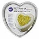 Wilton Wilton Decorator Preferred 10-Inch Heart Shaped Cake Pan