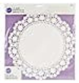 Wilton Wilton 2104-90212 6 Piece Grease Proof Doilies, 12 Inch, White