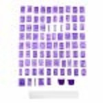 Wilton Wilton Cake Letter and Number Press Set, 88-Piece