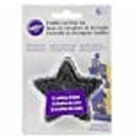Wilton Wilton 417-2584 6-Piece Nesting Fondant Double Sided Cut Out Cutters, Star