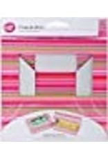 Wilton Cupcake Boxes-6 Cavity Snappy Stripes 2/Pkg