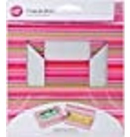 Wilton Cupcake Boxes-6 Cavity Snappy Stripes 2/Pkg