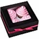 Wilton Wilton 415-0731 3-Pack 4-Cavity Cupcake Box , Black