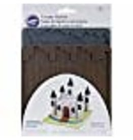 Wilton Wilton 409-2572 Texture 2-Piece Mold Set, Cobblestone/Wood
