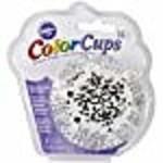 Wilton Wilton 415-2352 36 Count Baking Cup, Standard, Damask, Black/White