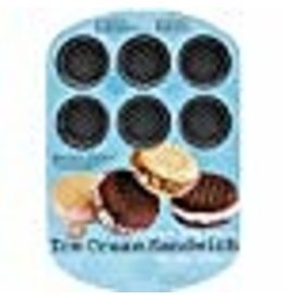 Wilton Wilton 12 Cavity Round Ice Cream Sandwich Pan
