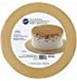 Wilton Wilton 2104-7485 Round Gold Glitter Cake Boards, 3 Count