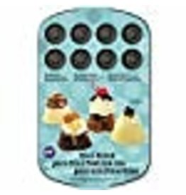 Wilton Wilton 2105-2176 24-Cavity Dessert Shell, Mini