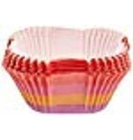 Wilton Wilton 415-0668 24-Pack Stripes Square Baking Cup, Standard