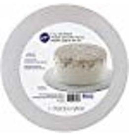 Wilton Wilton 2104-7145 Round Silver Glitter Cake Boards, 3 Count